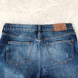 Madewell Jeans - Madewell Slim Boyjean Lightly Distressed High Rise